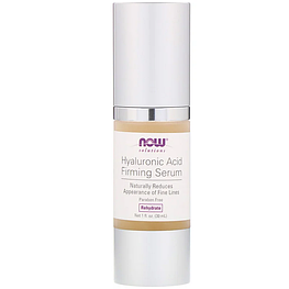 Hyaluronic Acid Firming Serum Now Foods Solutions 30 мл