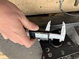 Фреза с ножами Булат на ось колес 32 мм (ширина 0,6-0,8-1,1 м, Weima), фото 2