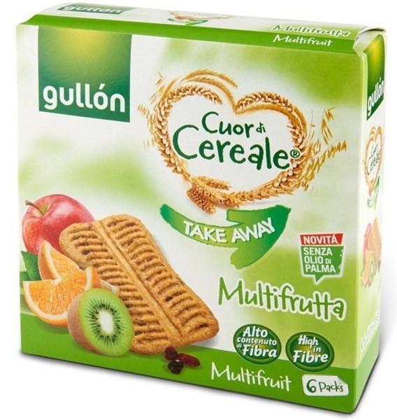 GULLON Takeaway Multifrutta fibra