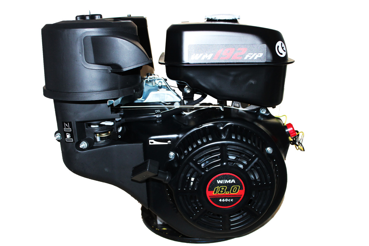 Двигатель бензиновый WEIMA WM192FE-S (CL) (центробежное сцепление, шпонка 25 мм, эл/старт)