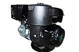Двигатель бензиновый GrunWelt GW460F-S (CL) (центробежное сцепление, шпонка, 18 л.с., ручной стартер), фото 2
