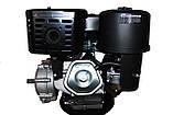 Двигатель бензиновый GrunWelt GW460F-S (CL) (центробежное сцепление, шпонка, 18 л.с., ручной стартер), фото 5