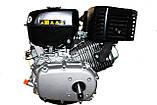 Двигатель бензиновый GrunWelt GW460F-S (CL) (центробежное сцепление, шпонка, 18 л.с., ручной стартер), фото 9