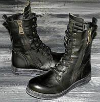 Женские оригинальные, кожаные ботинки Replay Evy