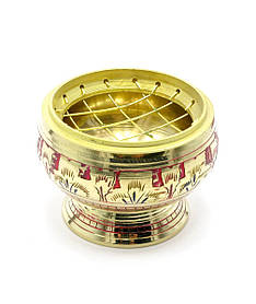 "Курительница бронзовая (6х6х4,5 см)(Hathi Bowl NC 2"")"