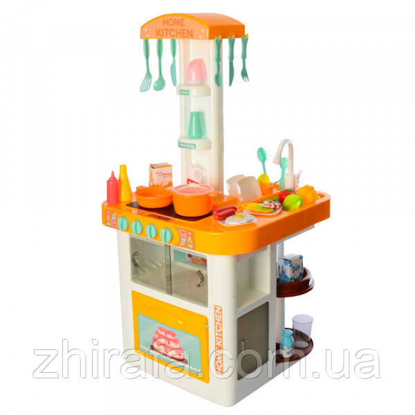 Игровой Набор Большая Кухня Home Kitchen  с Духовкой, Посудой и Водой