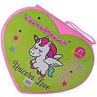 Набор для творчества MK 3918-3-1-UC (Unicorn Love) акв.краски, фломастеры, карандаши