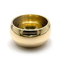 Чаша поющая бронзовая (без резонатора)(d 12 см)(Yellow Plain no.2)