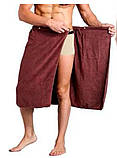 Полотенце - килт для сауны-бани, фото 3