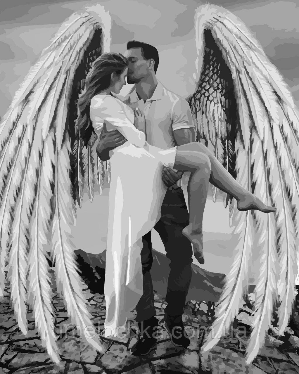 Картина по номерам Мой ангел (KHO4511) 40 х 50 см Идейка (Без коробки)