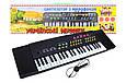 Синтезатор пианино 37 клавиш, микрофон, от сети Украинские песни, фото 2