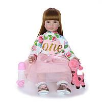 Кукла реборн 62 см девочка Олеся