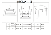 DECLAN II BIAŁY/BUK 80X80 (Signal), фото 2