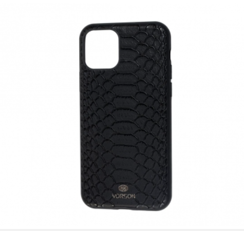 Чехол Vorson Snake черный на iPhone 11 Pro (KG-896)