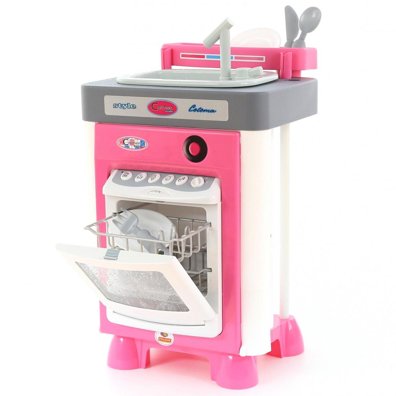 Игровой набор посудомоечная машина с мойкой Carmen Wader 47946