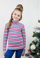 Теплая водолазка для девочки кашкорсе, фото 1