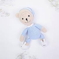 Медвежонок Сплюшка игрушка мягкая Голубой (400005), фото 1