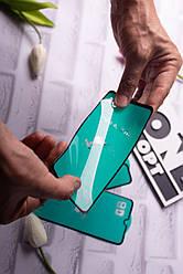 Гибкое стекло-керамика на весь экран для Samsung A80 2019 Black