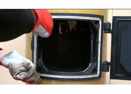 Уплотнитель для дверцы котлов STROPUVA S10 / Запчасти и комплектующие Стропува, фото 2