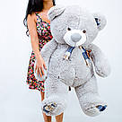 Плюшеві ведмеді Плюшевий ведмедик 1 МЕТР, Рожевий, фото 3
