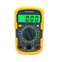 Цифровий мультиметр Kronos UK-830LN Тестер Вольтметр Амперметр