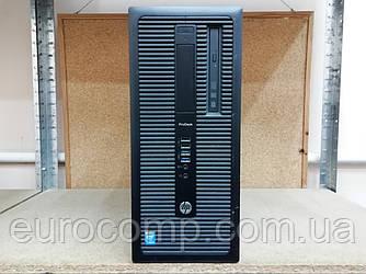 Компьютер для дома и офиса HP Prodesk 600 G1 MT (Core i5-4570/4GB/500GB/Windows 10 Pro Лицензия)