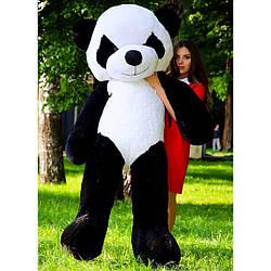 Плюшевые медведи: Плюшевый медвежонок Панда 2 метра ( 200 см), Черно-белая