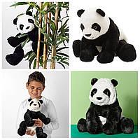 Плюшевая игрушка Панда 30 см IKEA KRAMIG детская мягкая игрушка ИКЕА КРАМІГ