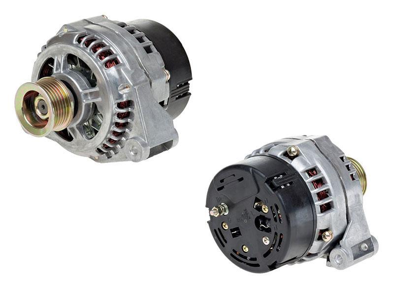 Генератор для автомобилей ГАЗ / УАЗ с двигателем ЗМЗ-406 135A