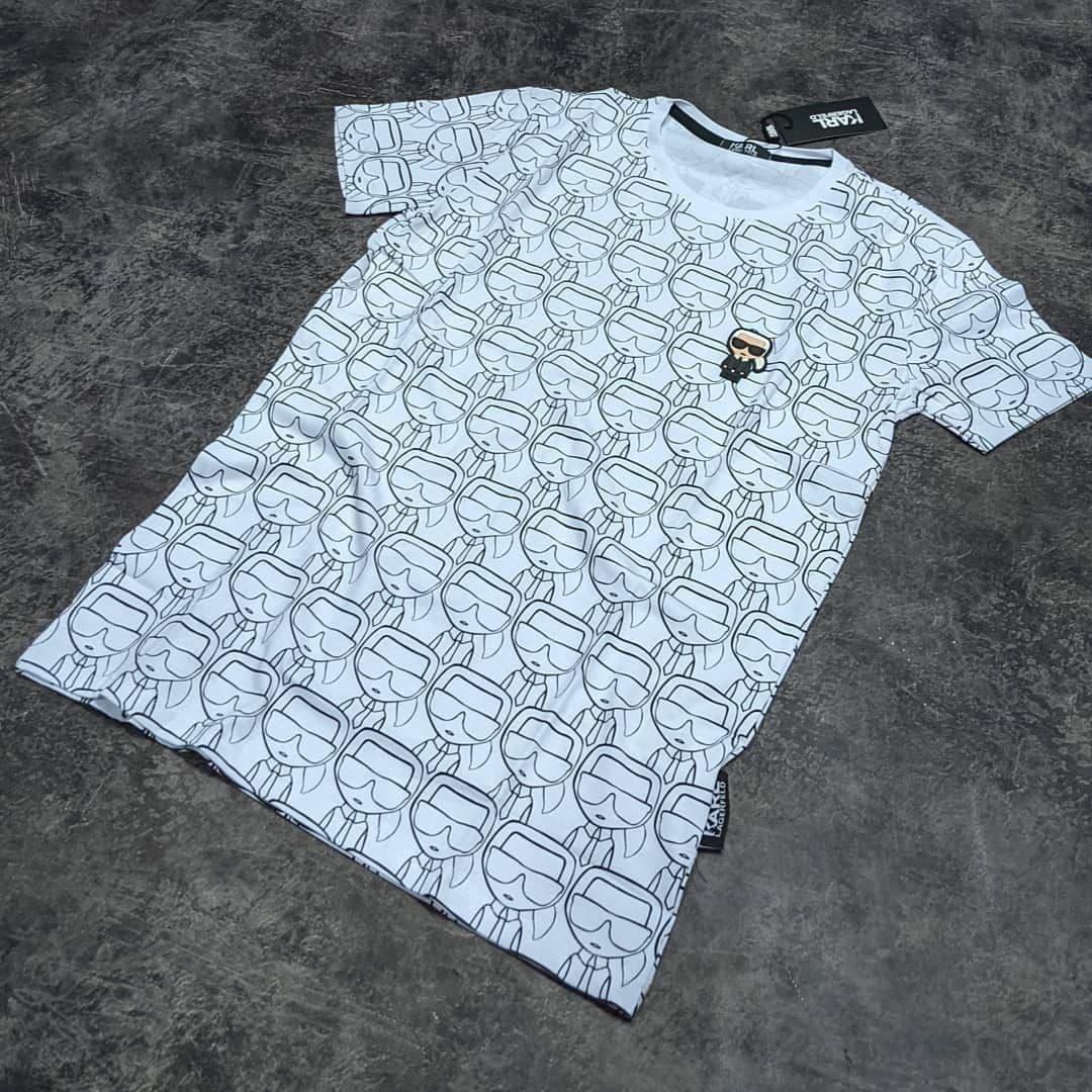 Мужская футболка Karl CK1609 белая