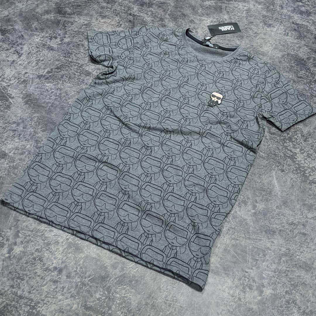 Мужская футболка Karl CK1610 серая