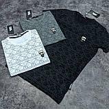 Мужская футболка Karl CK1610 серая, фото 2