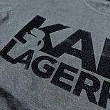 Мужская футболка Karl CK1620 черная, фото 2