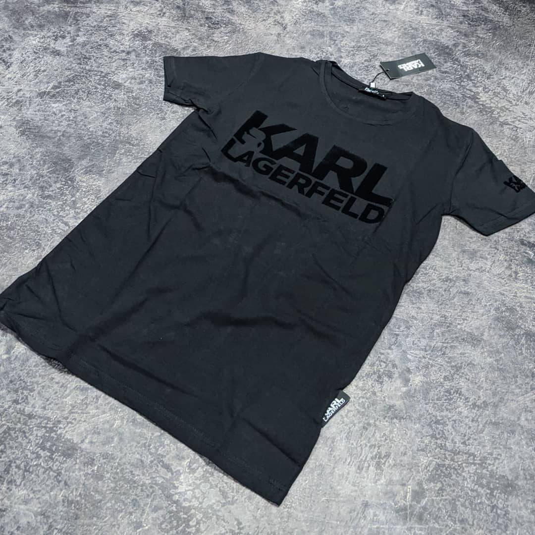Мужская футболка Karl CK1620 черная