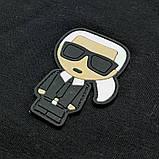 Мужская футболка Karl CK1622 черная, фото 3