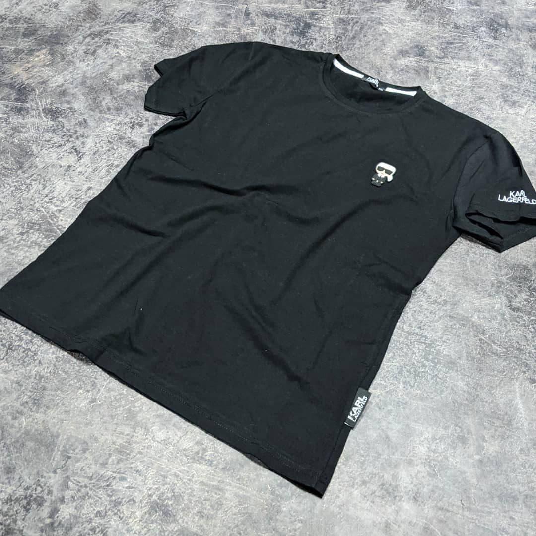 Мужская футболка Karl CK1622 черная
