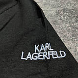 Мужская футболка Karl CK1622 черная, фото 2