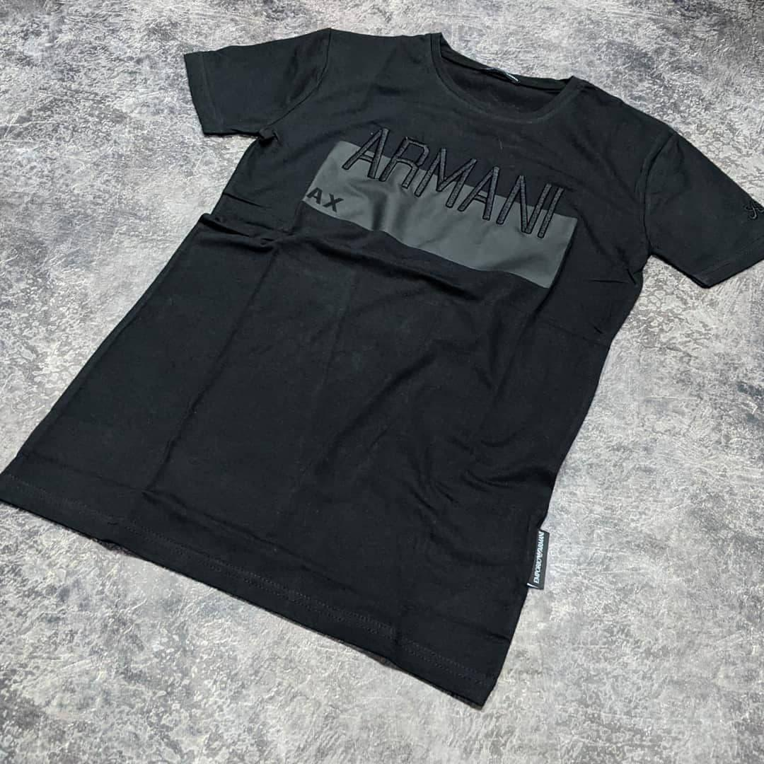 Мужская футболка Armani CK1616 черная