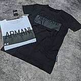 Мужская футболка Armani CK1616 черная, фото 2