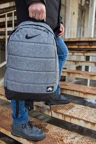 Рюкзак Nike сірий