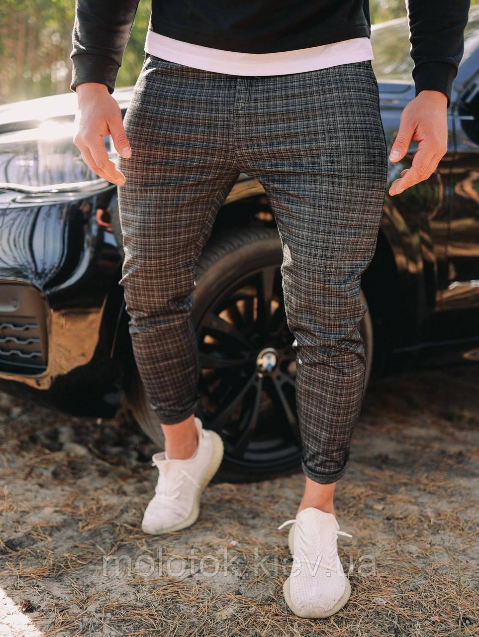 Стильные брюки (клетка)