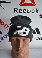 Шапка New Balance черного цвета