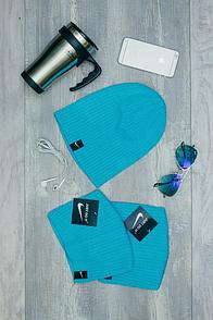 Шапка Nike бирюзового цвета