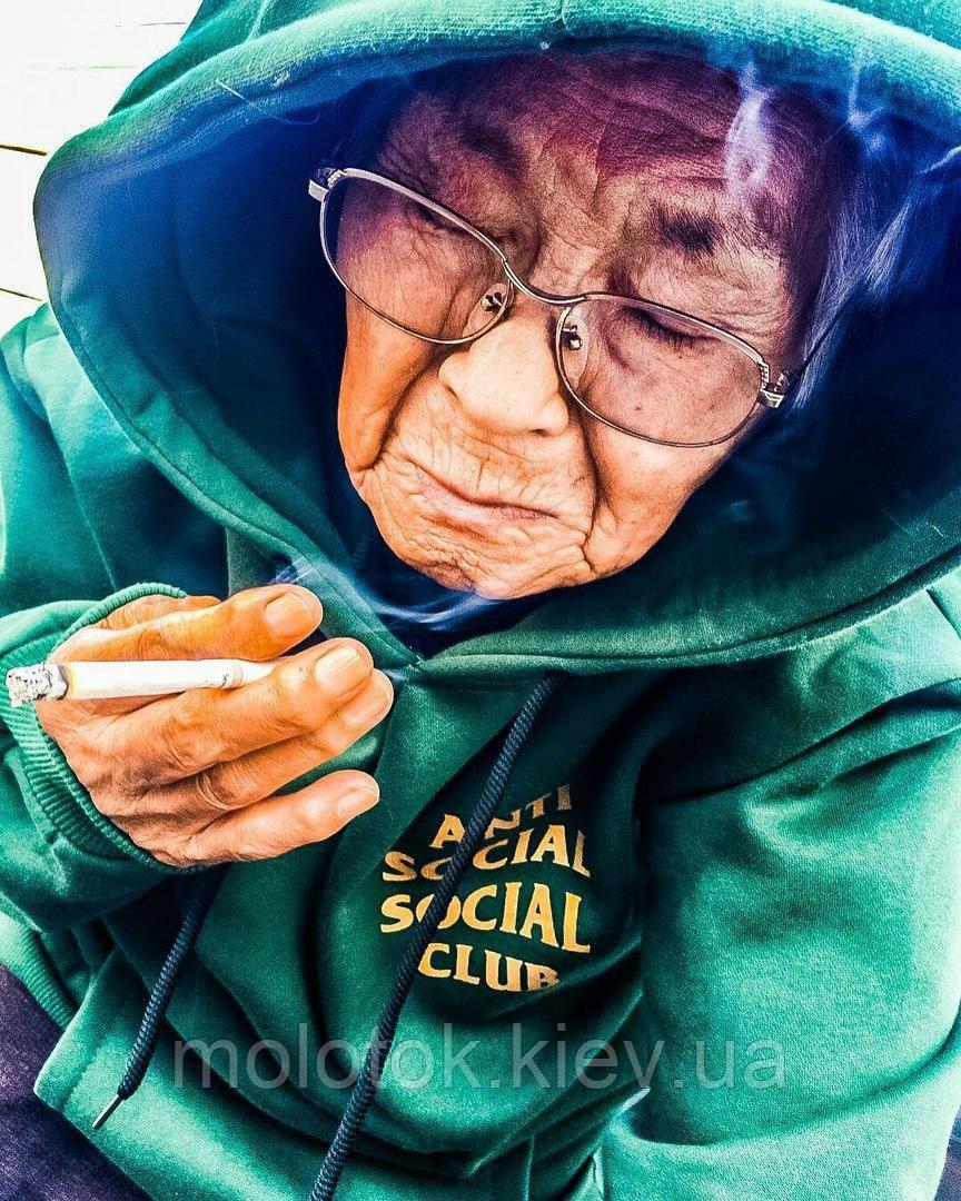 Худи Anti Social Social Club (Анти Сошал Сошал Клаб), зеленый