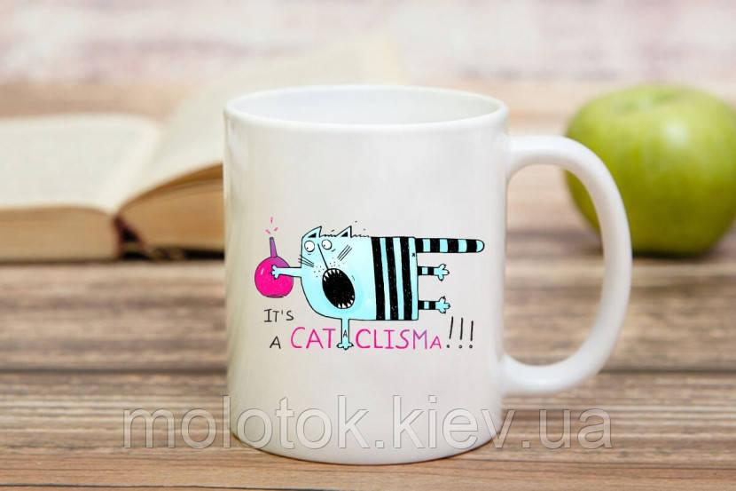 Чашка с котом
