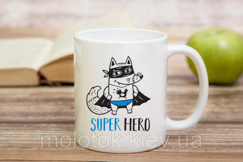 Чашка Лисиця-Супергерой