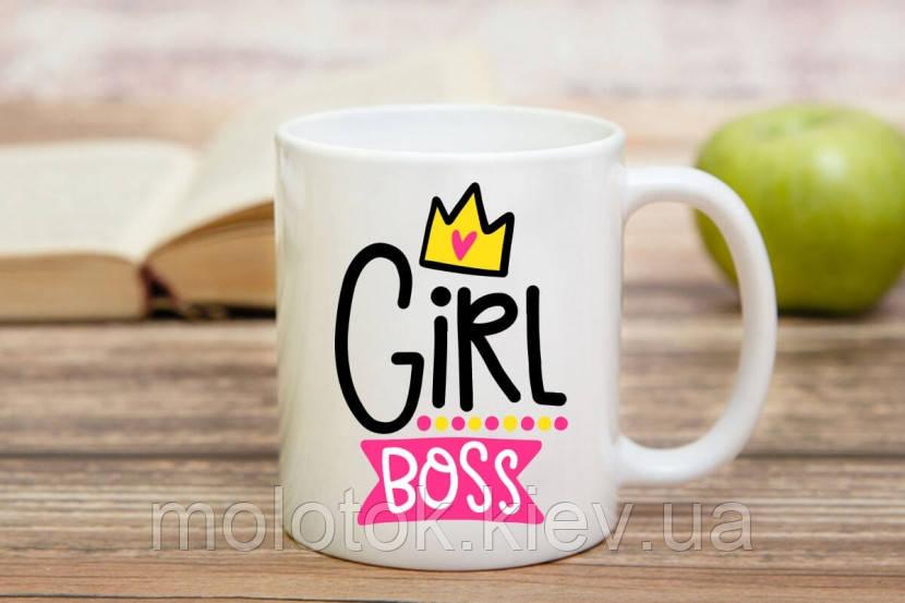 Чашка Girl Boss