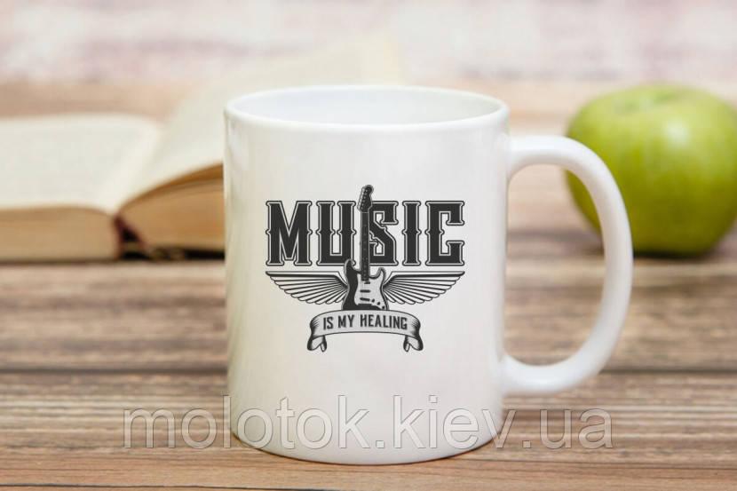 Чашка Музыка