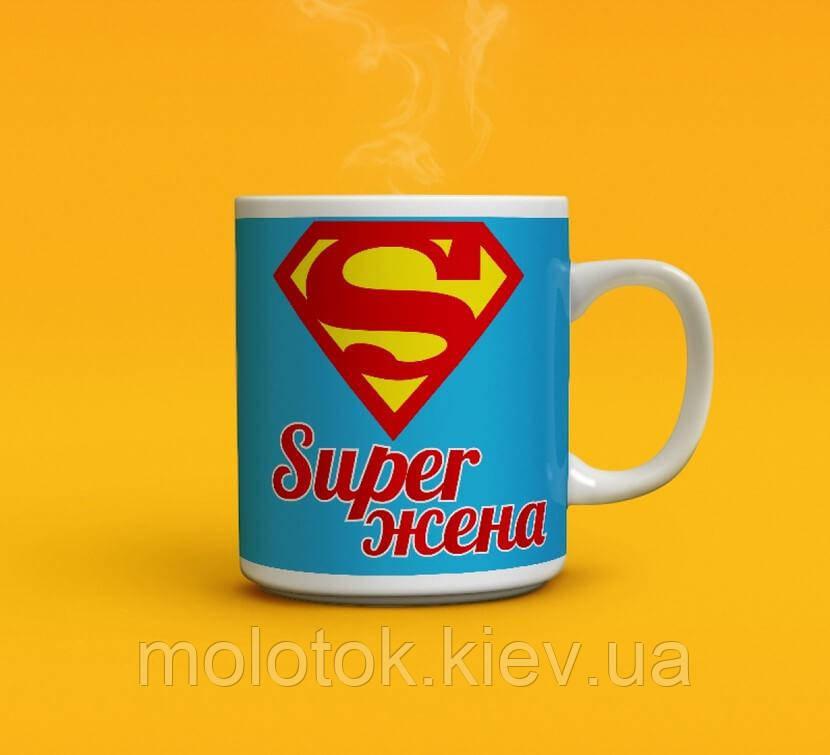 Чашка Super Жена