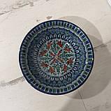Глубокая тарелка ~450 мл. Ручная работа. Узбекистан (17_5), фото 2